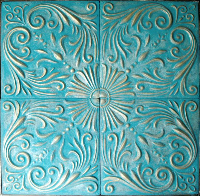 Estudio delier cuadro panel clasico agua - Cuadros abstractos relieve ...