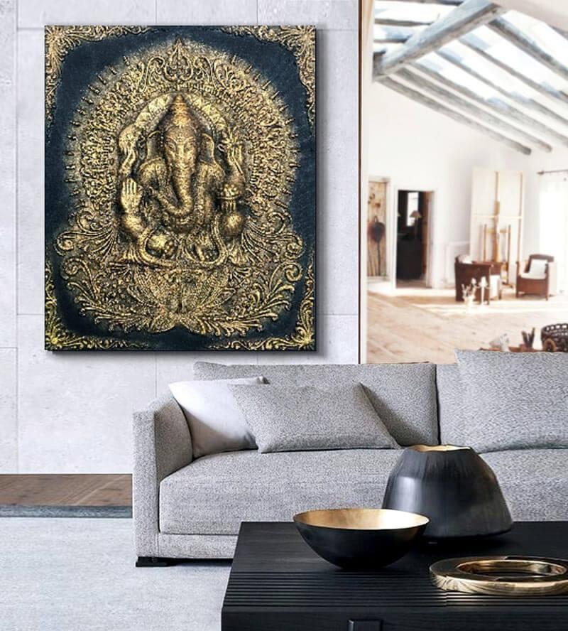 cuadros de ganesh budistas