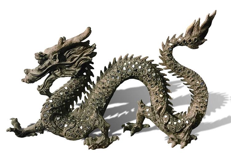 comprar decoracion oriental dragones
