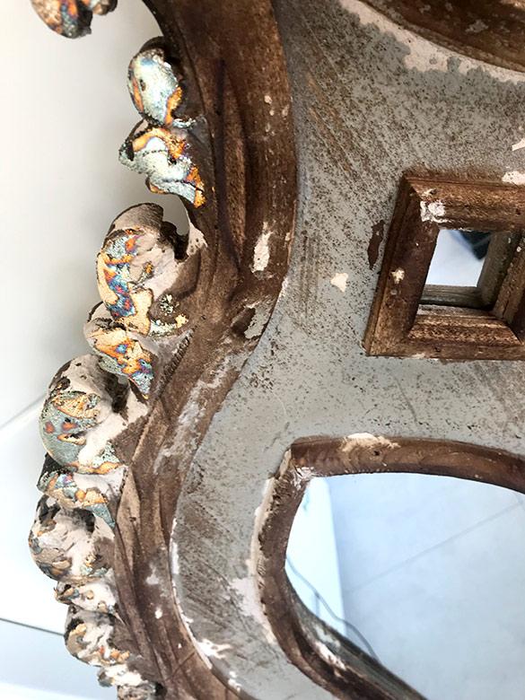 tallas espejos madera