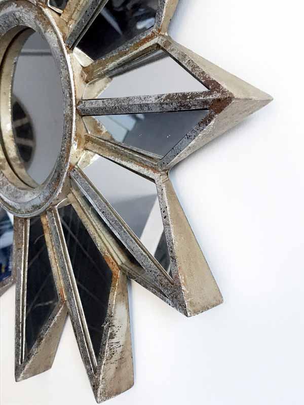 espejos plateados decoracion