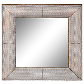 espejos en metal