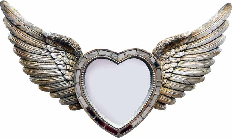 espejos alas de angel