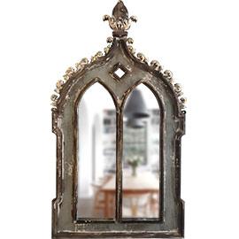 espejos en madera