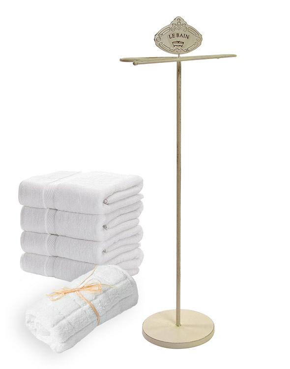 toallero perchero baño
