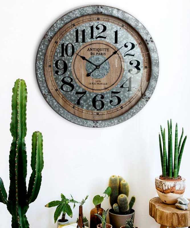 relojes grandes de pared vintage