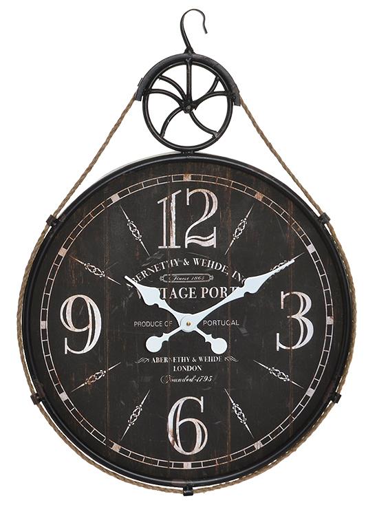 reloj vintage pared