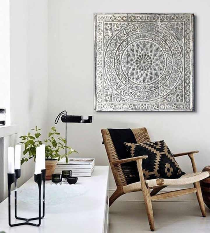 cuadros decorativos blancos