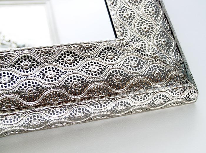 espejos plata decoracion