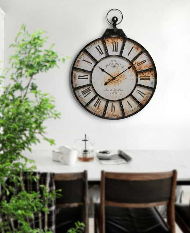 relojes vintage baratos para la pared