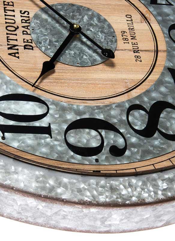 relojes pared rusticos