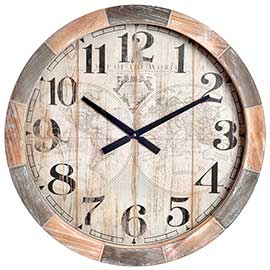 tienda relojes vintage pared