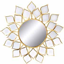 tienda de espejos dorados