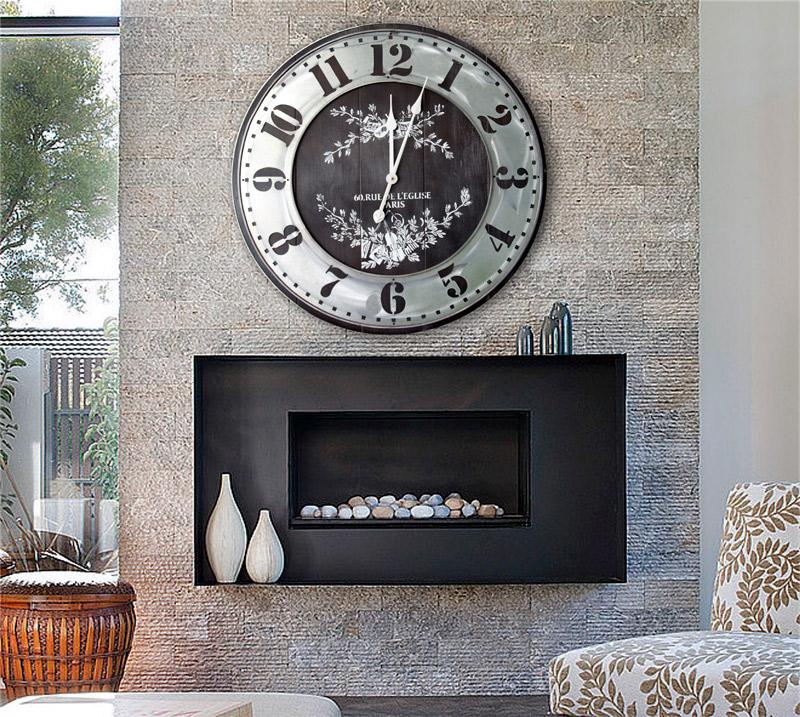 Estudio delier reloj de pared vintage - Reloj pared vintage ...