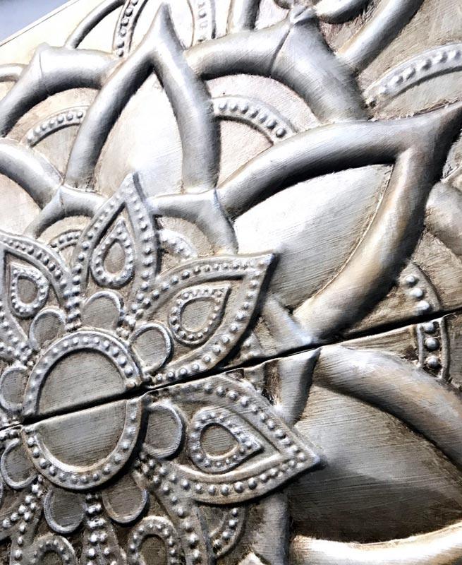 cuadros decorativos en plata