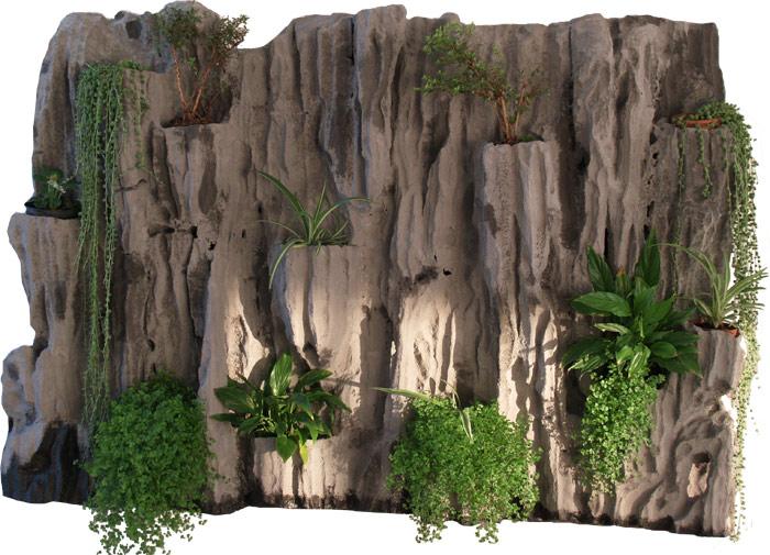 Estudio delier jardin vertical cuadro 1 95x147cm for Cuadro jardin vertical