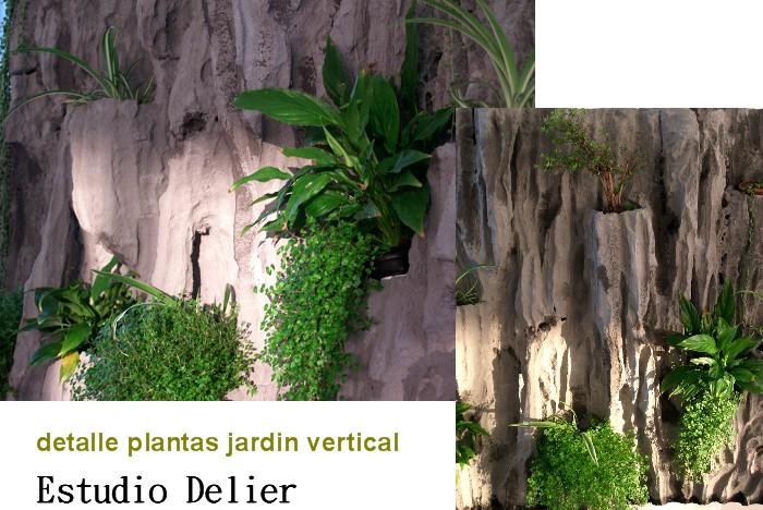 Estudio delier jardin vertical cuadro 1 95x147cm - Cuadro jardin vertical ...