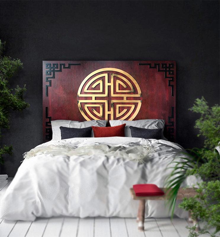 cabeceros para camas orientales chinos