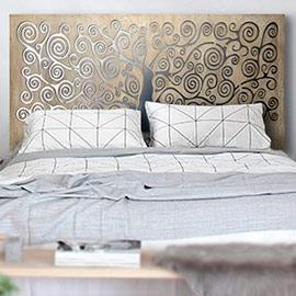 cabeceros modernos para cama