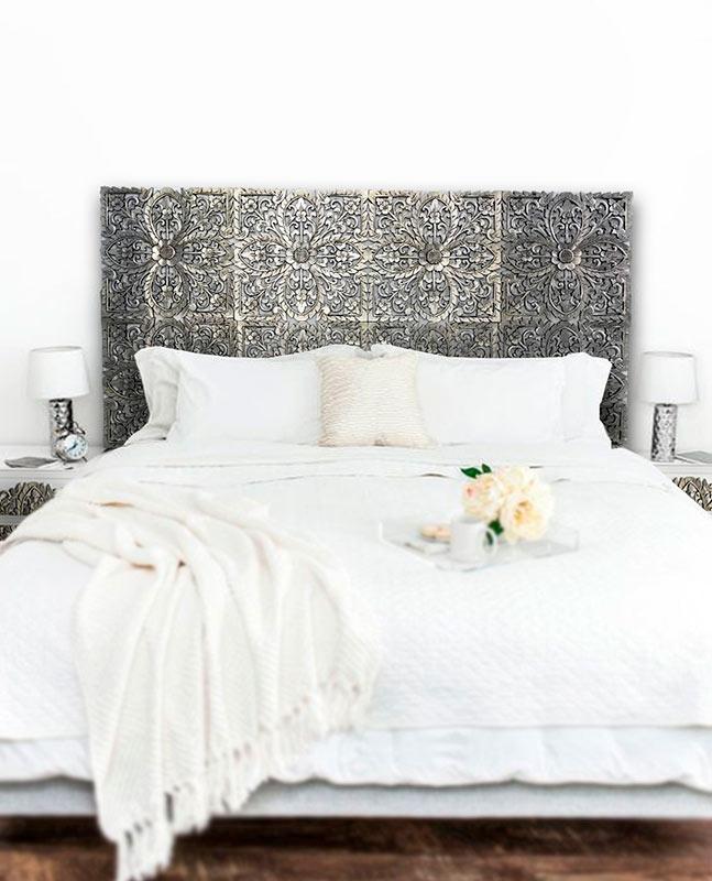 cabeceros para cama estilo marruecos
