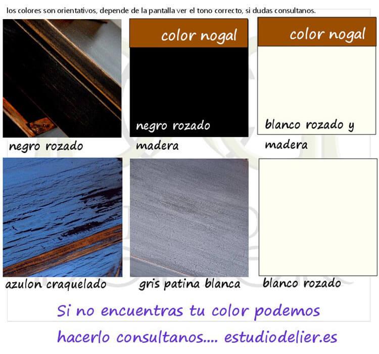 colores efecto viejo