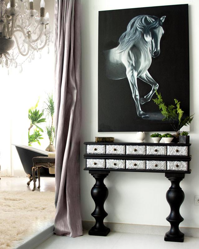 cuadros para paredes con papel