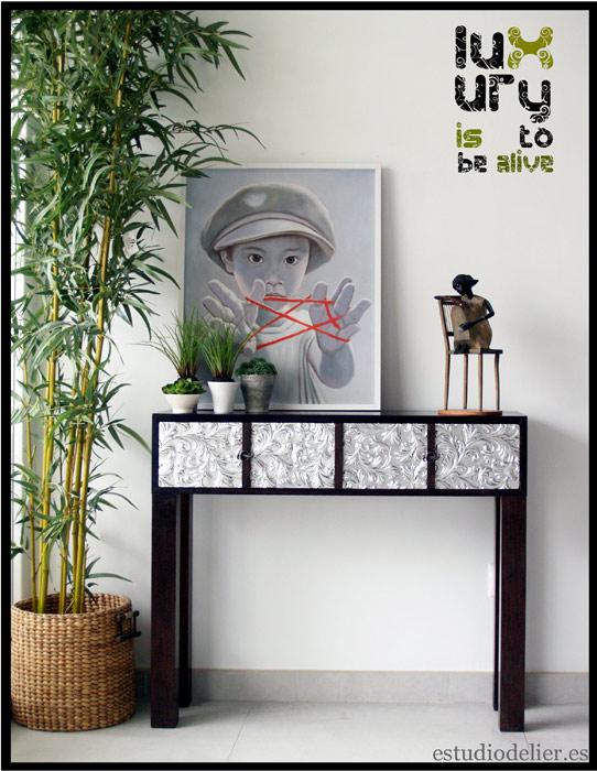 muebles para papeles pintados