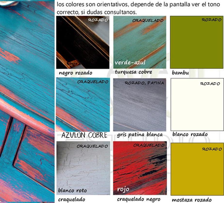 colores para muebles