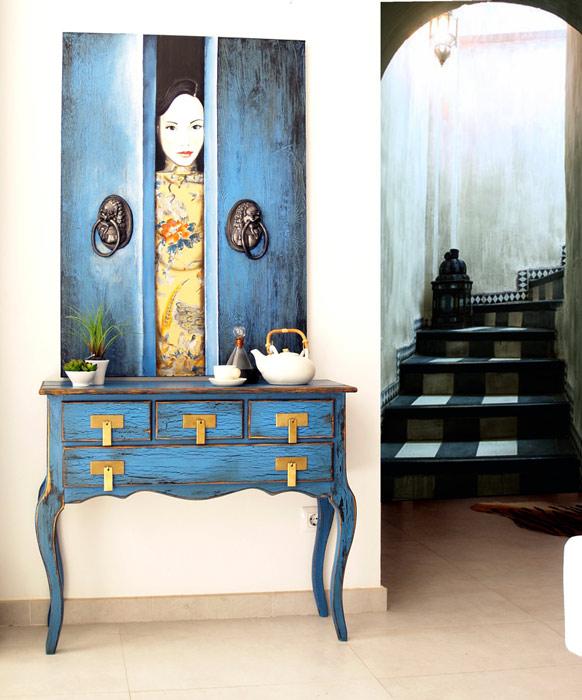 muebles de entrada clasicos