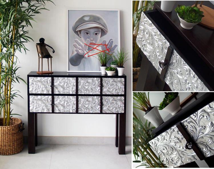 Estudio delier mueble consola de entrada luxory - Mueble de entrada ...