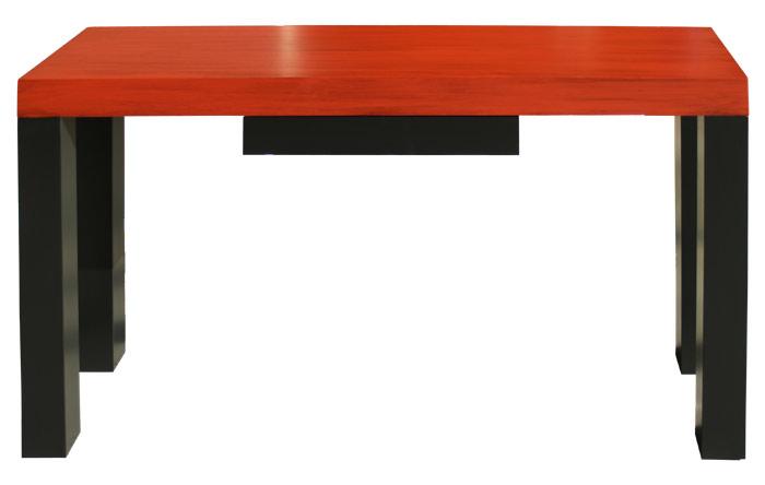 consolas muebles en color rojo