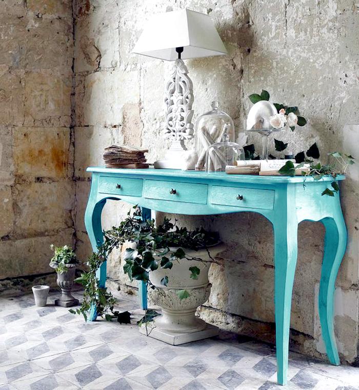 estudio delier consola mueble de entrada colores