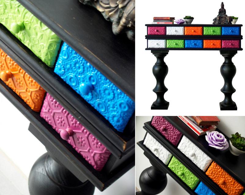 Estudio delier mueble consola lor2 for Muebles pop art