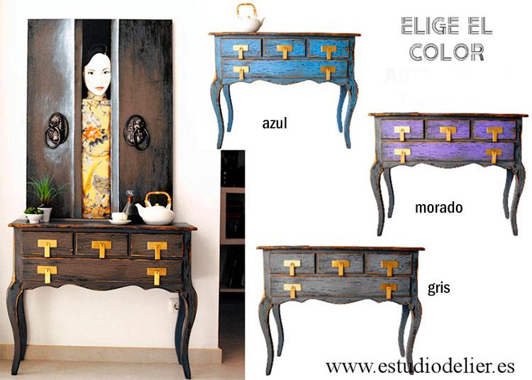 muebles de estilo rustico