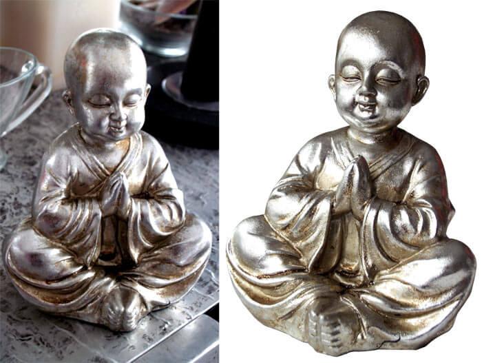 Estudio delier buda plata - Figuras buda decoracion ...